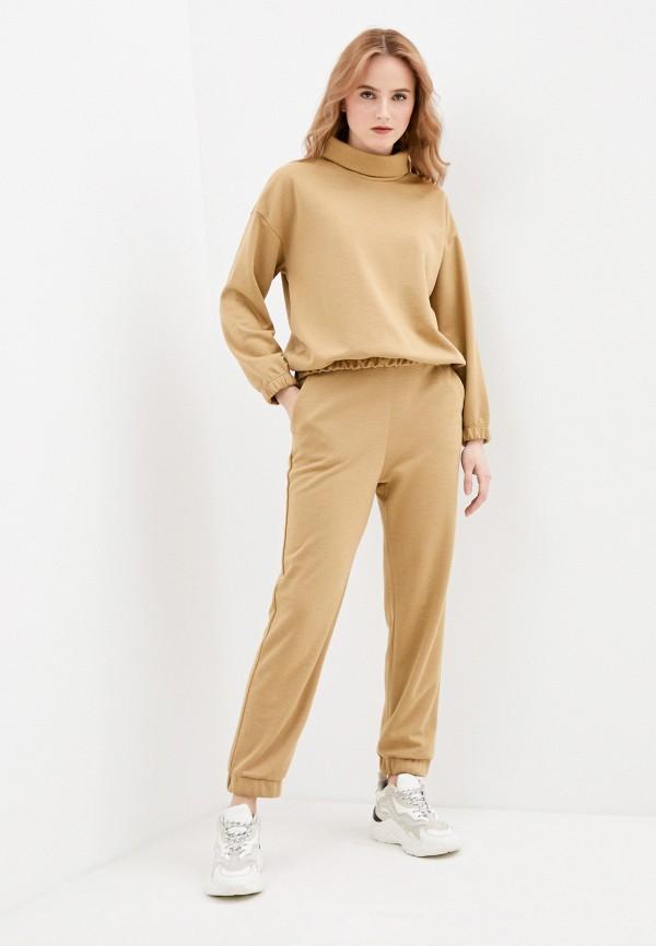 женский спортивный костюм vittoria vicci, коричневый