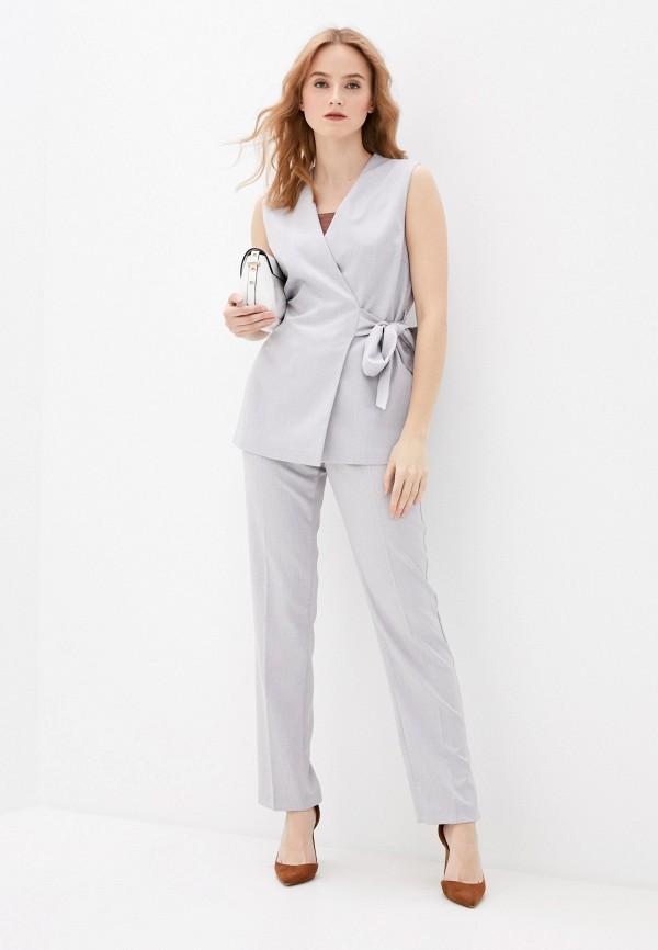 женский костюм vittoria vicci, серый