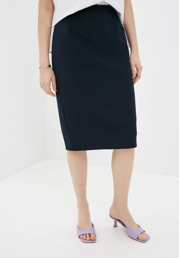 женская узкие юбка vittoria vicci, синяя