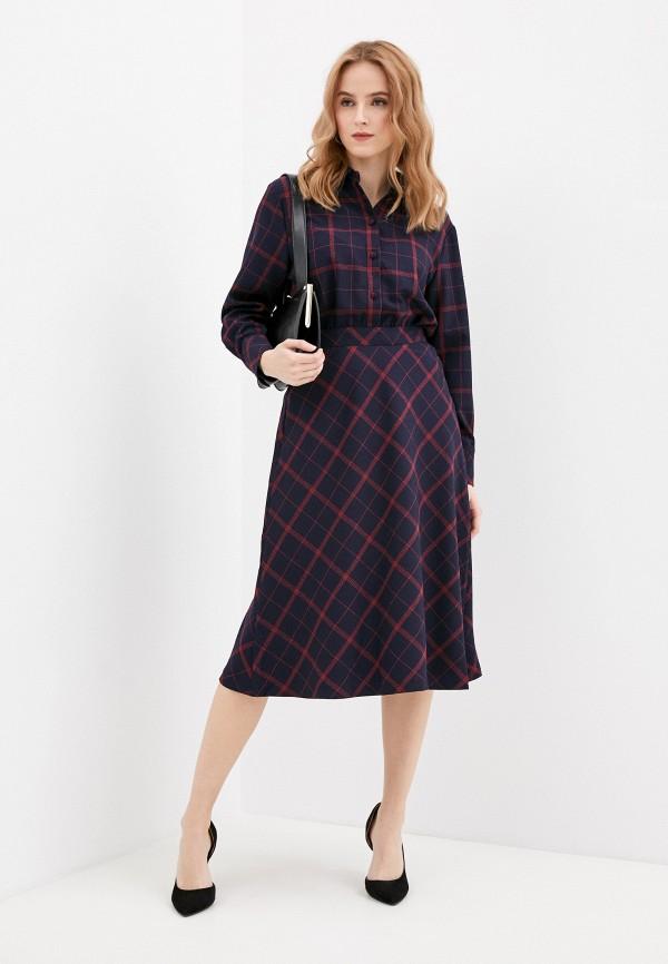 женское платье-рубашки vittoria vicci, синее