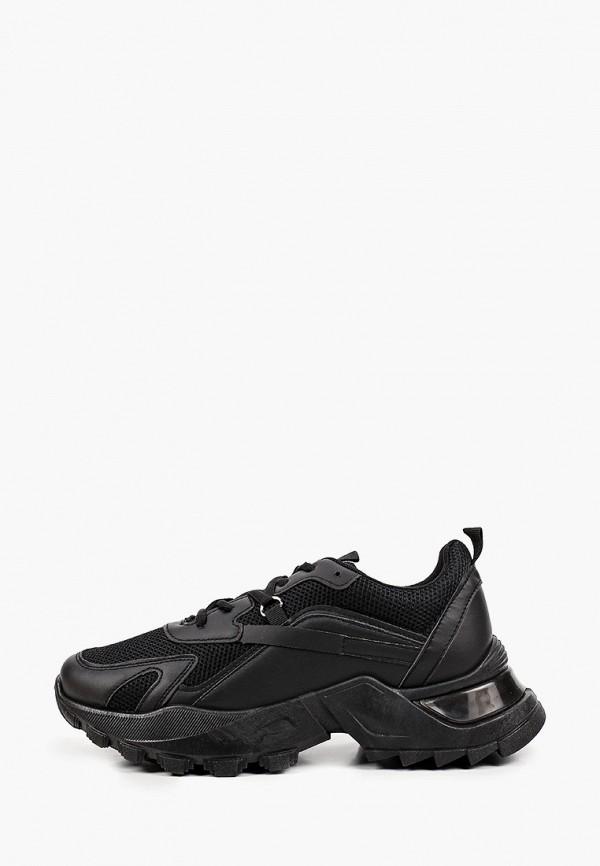женские низкие кроссовки patrol, черные
