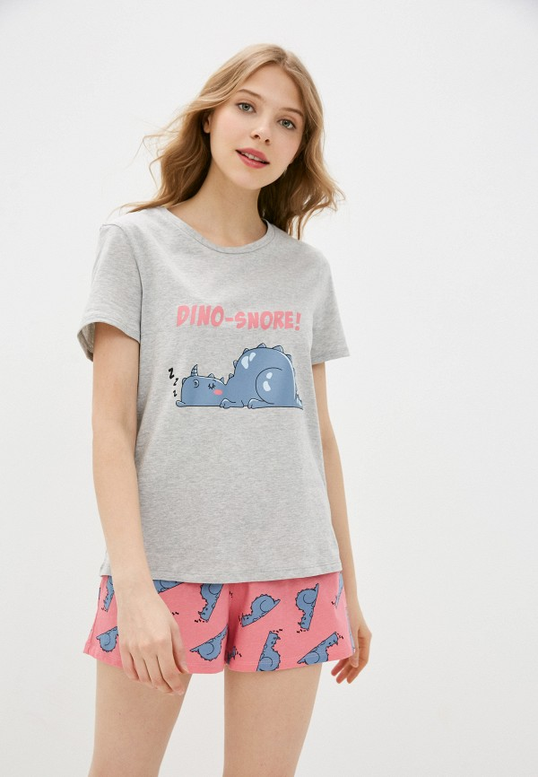 женская пижама tezenis, разноцветная
