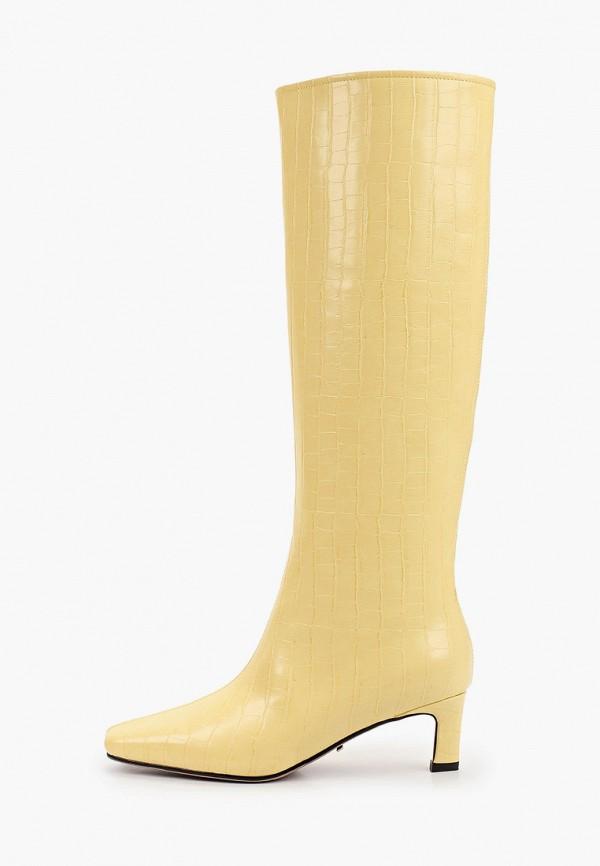 женские сапоги lera nena, желтые