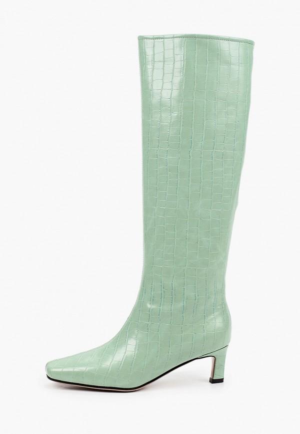 женские сапоги lera nena, зеленые