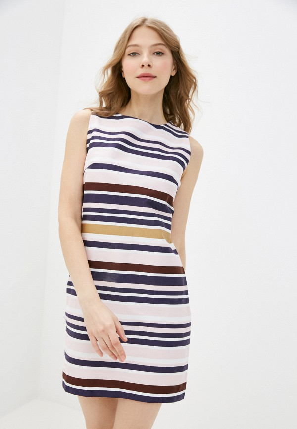 женское платье-футляр vittoria vicci, разноцветное