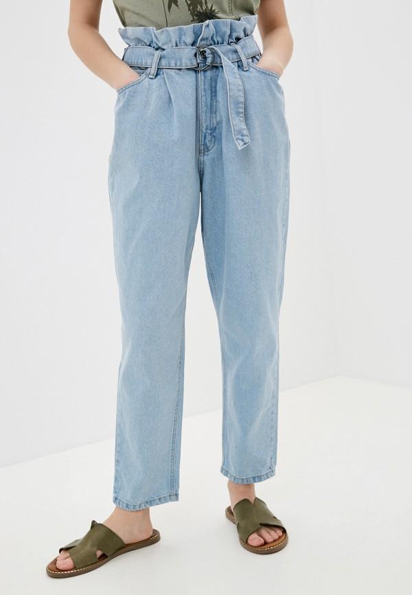 женские джинсы-мом o'stin, голубые