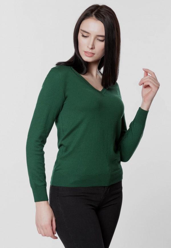женский пуловер arber, зеленый