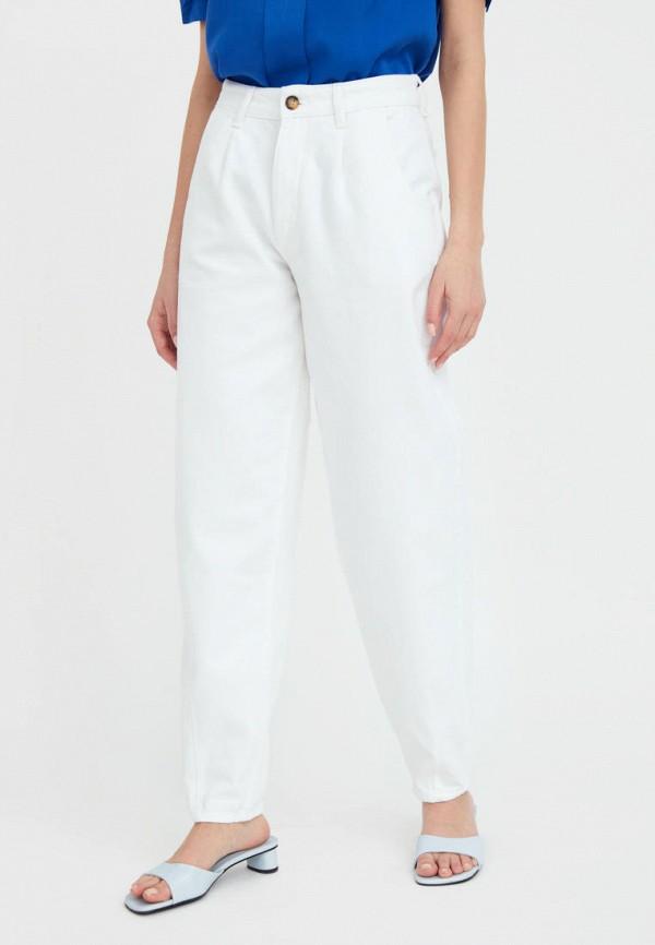 женские джинсы-мом finn flare, белые