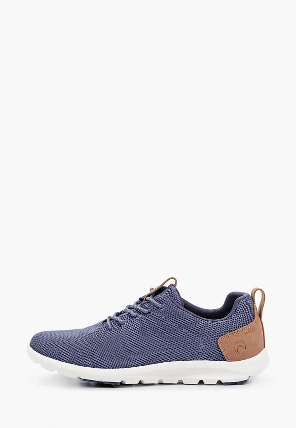 женские низкие кроссовки outventure, синие