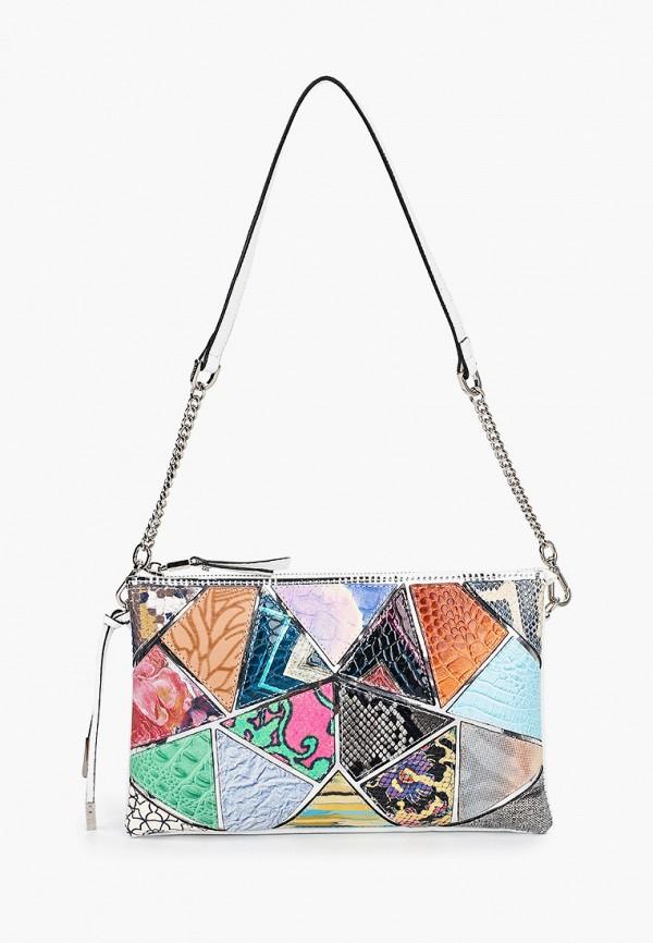 женская сумка с ручками eleganzza, разноцветная