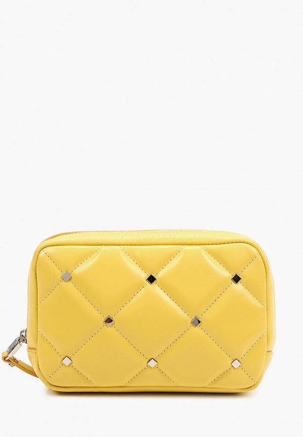 женская поясные сумка eleganzza, желтая