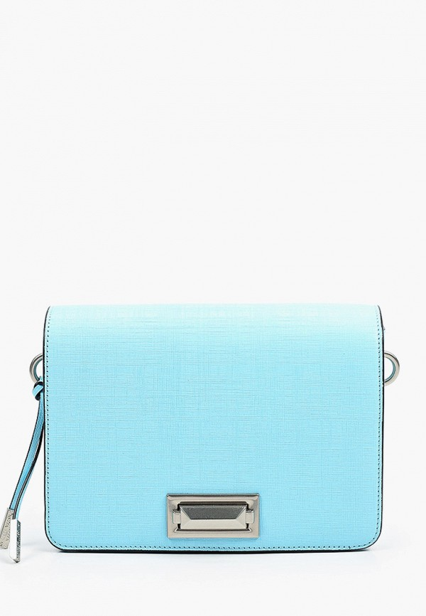 женская сумка через плечо eleganzza, голубая