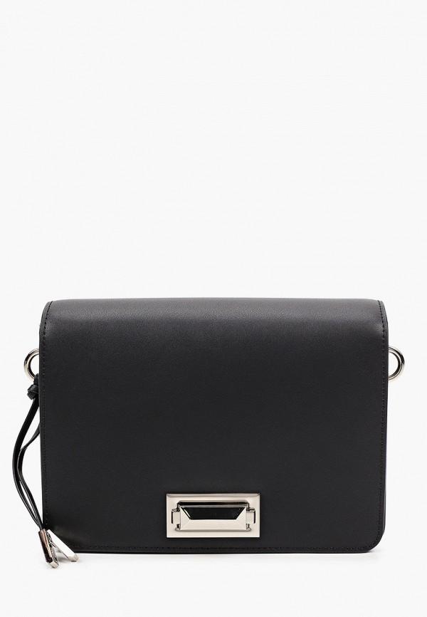 женская сумка через плечо eleganzza, черная