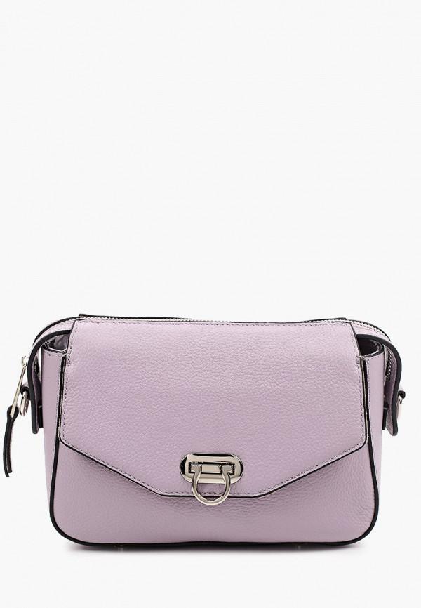 женская сумка с ручками labbra, фиолетовая
