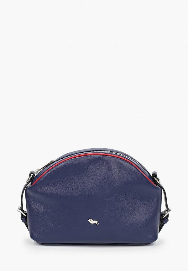 женская сумка через плечо labbra, синяя