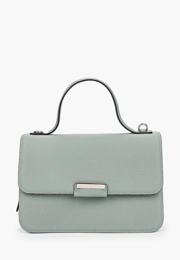 женская сумка с ручками labbra, зеленая