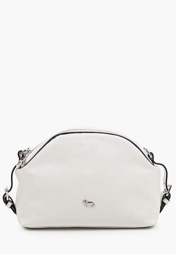 женская сумка через плечо labbra, белая