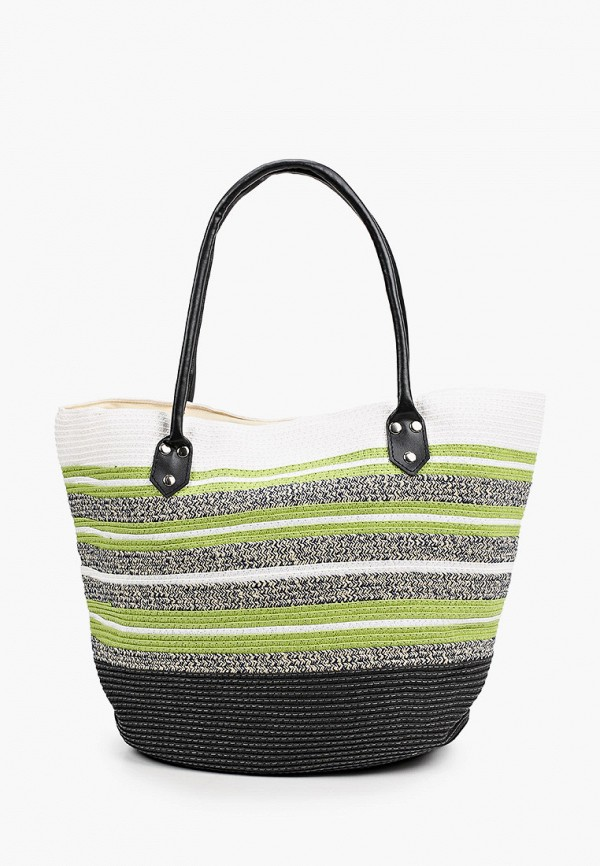 женская пляжные сумка labbra, зеленая
