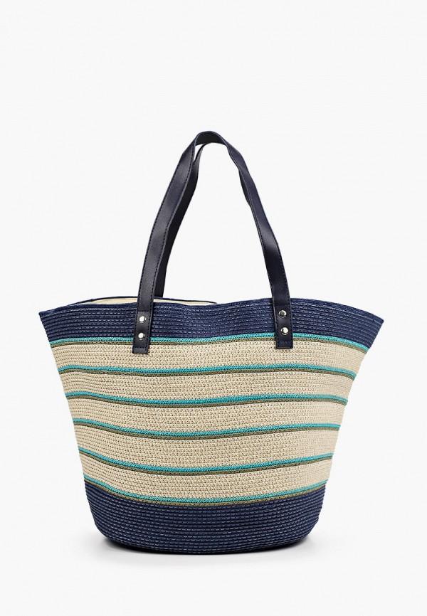 женская пляжные сумка labbra, бежевая