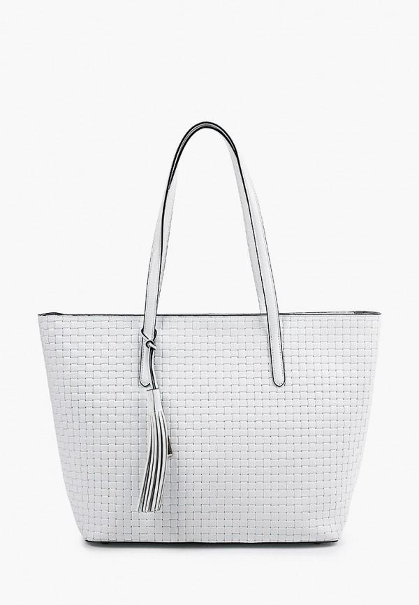 женская сумка-шоперы eleganzza, белая