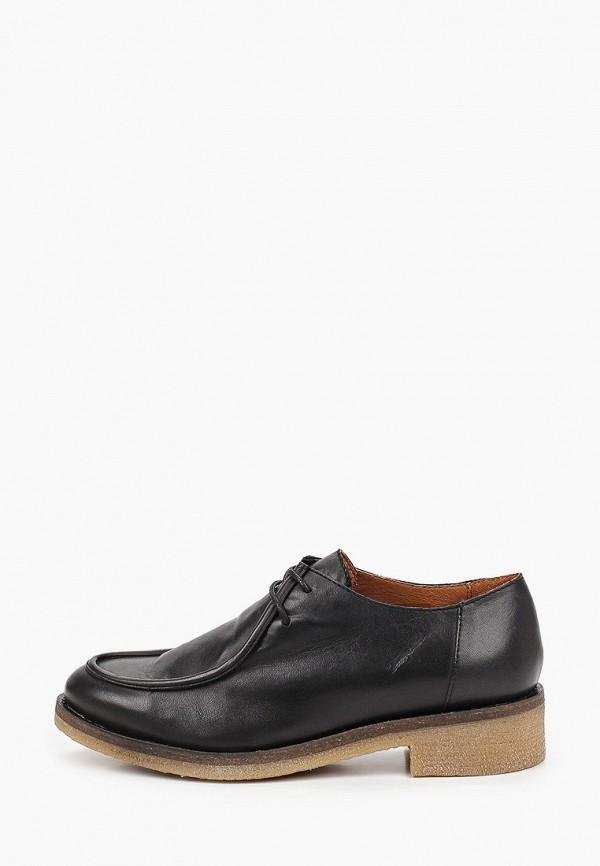 женские низкие ботинки francesco donni, черные