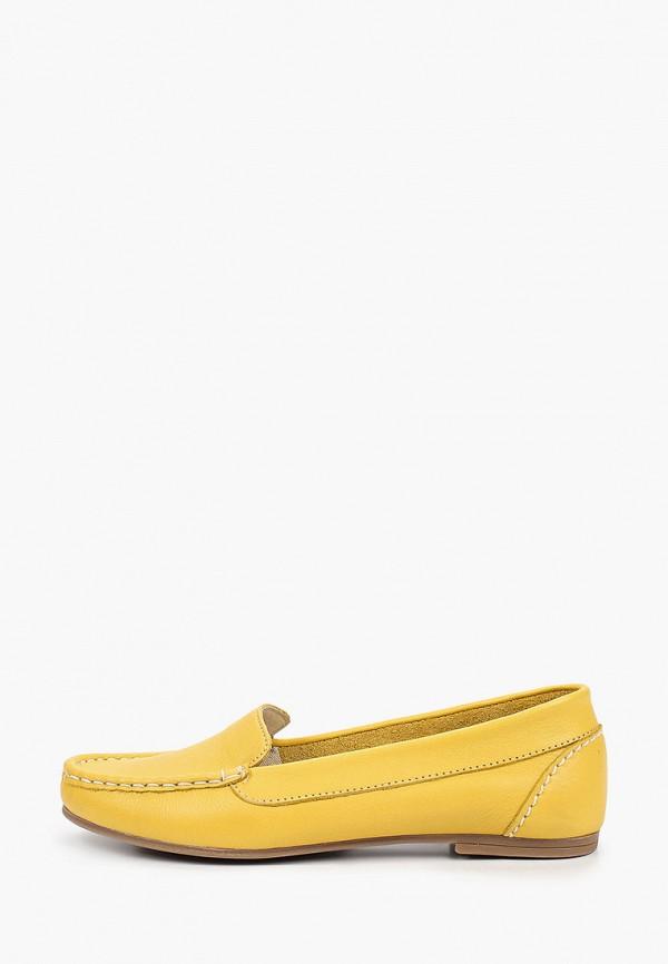 женские мокасины francesco donni, желтые