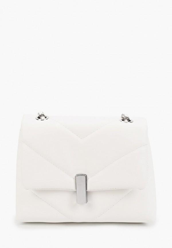 женская сумка через плечо dispacci, белая