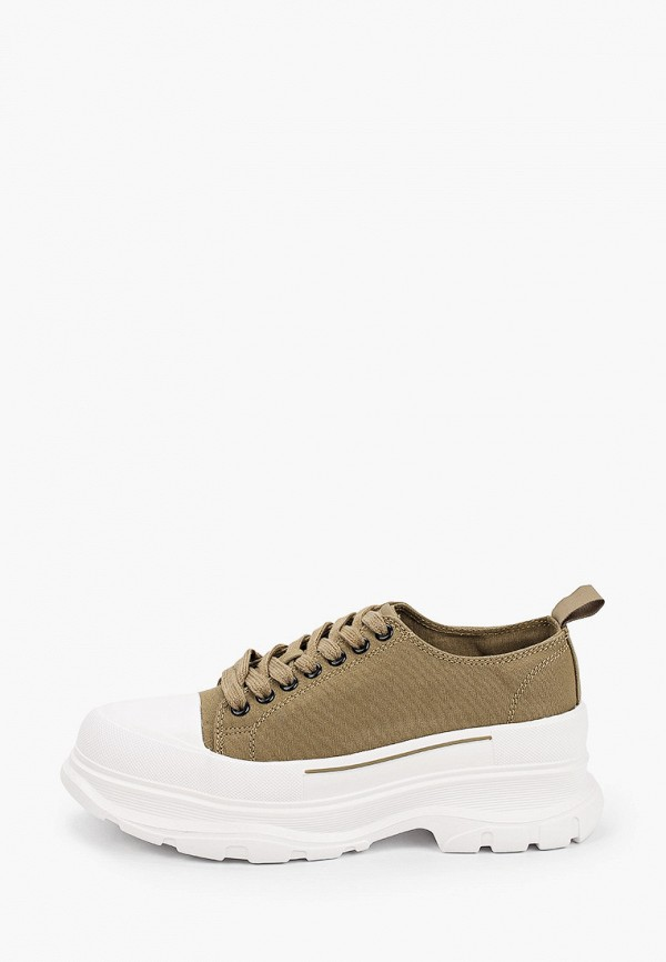женские низкие кроссовки x-plode, хаки