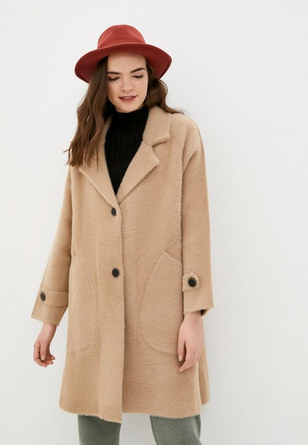женское пальто fadjo, бежевое