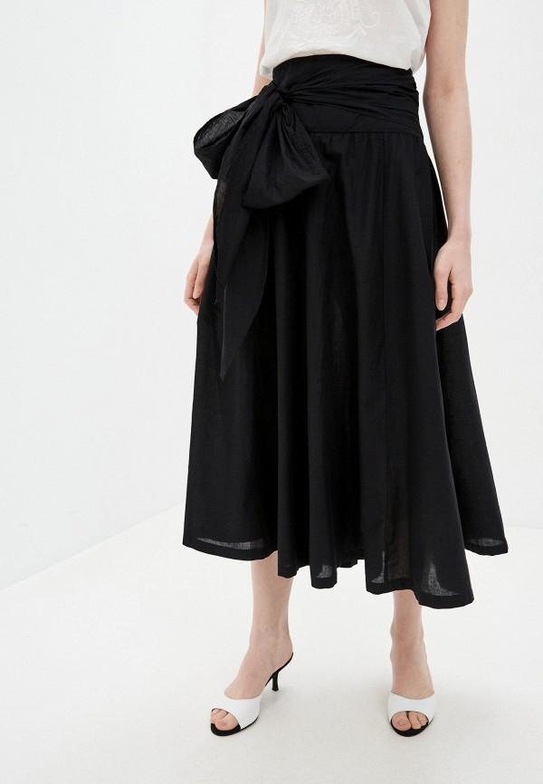 женская юбка calzedonia, черная