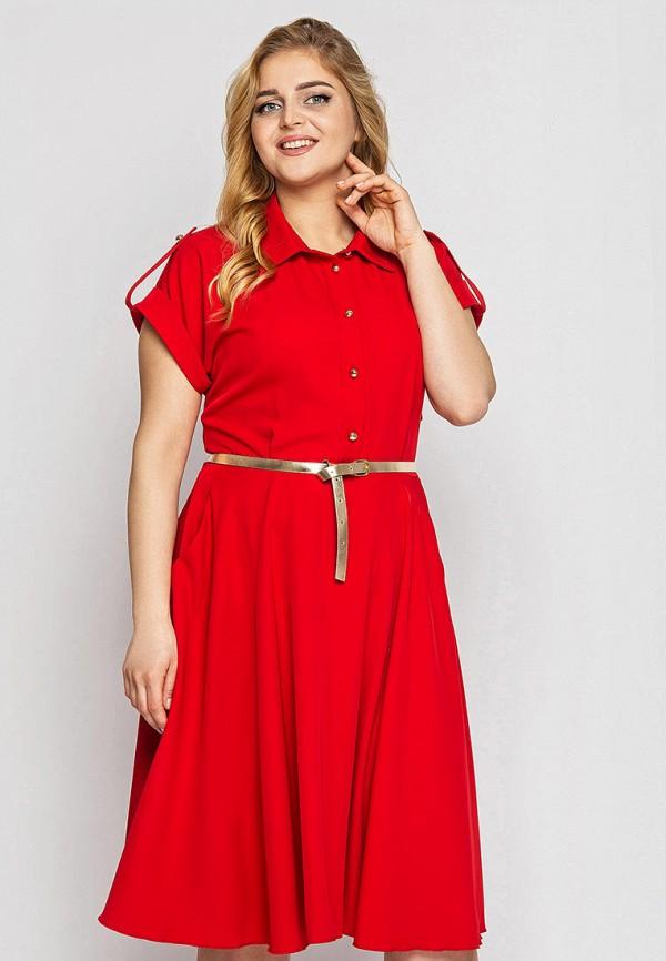 женское платье vlavi, красное