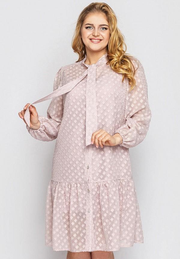 женское повседневные платье vlavi, розовое