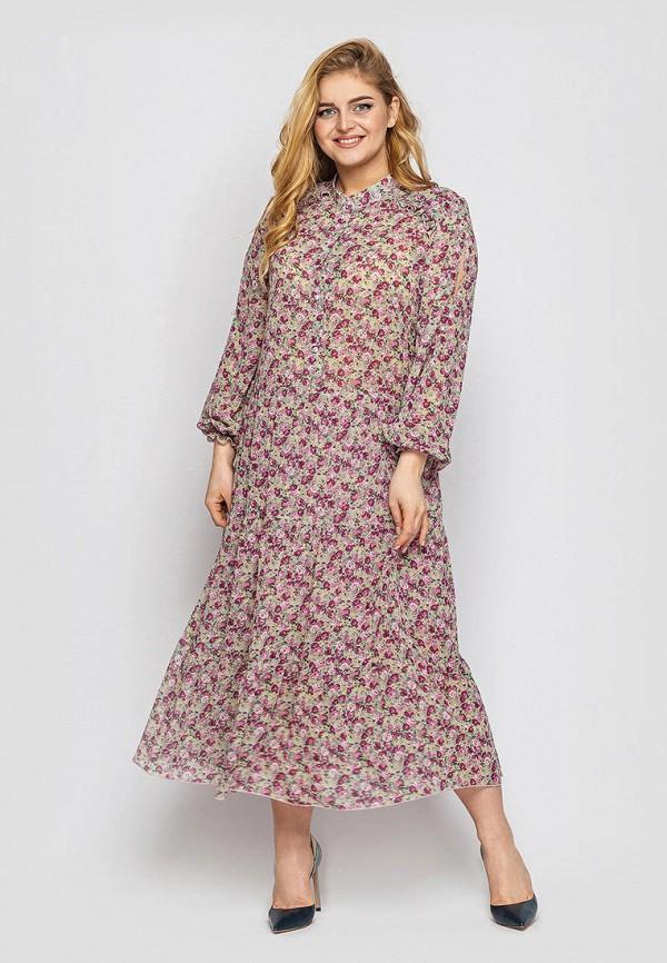 женское повседневные платье vlavi, бирюзовое