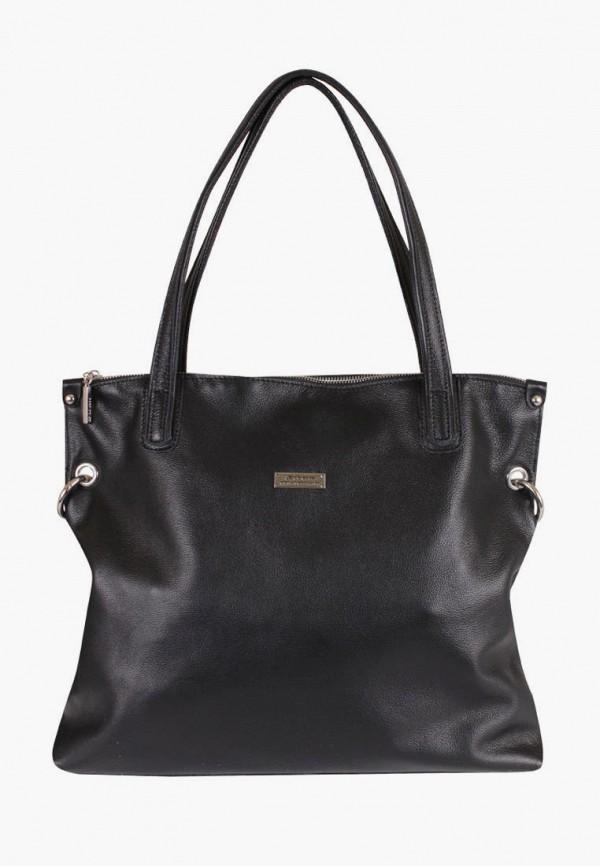 женская сумка de esse, черная