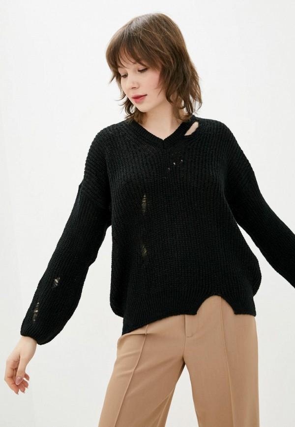 женский пуловер sewel, черный