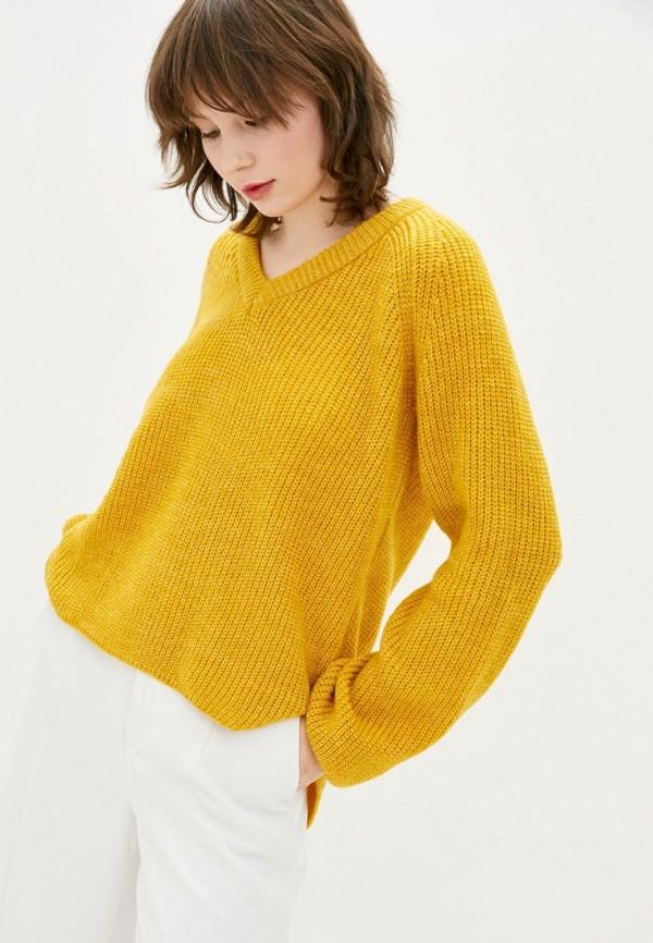 женский пуловер sewel, желтый