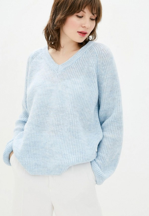 женский пуловер sewel, голубой