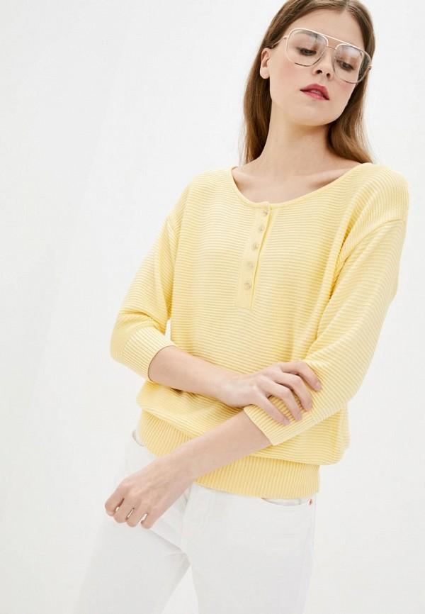 женский джемпер sewel, желтый