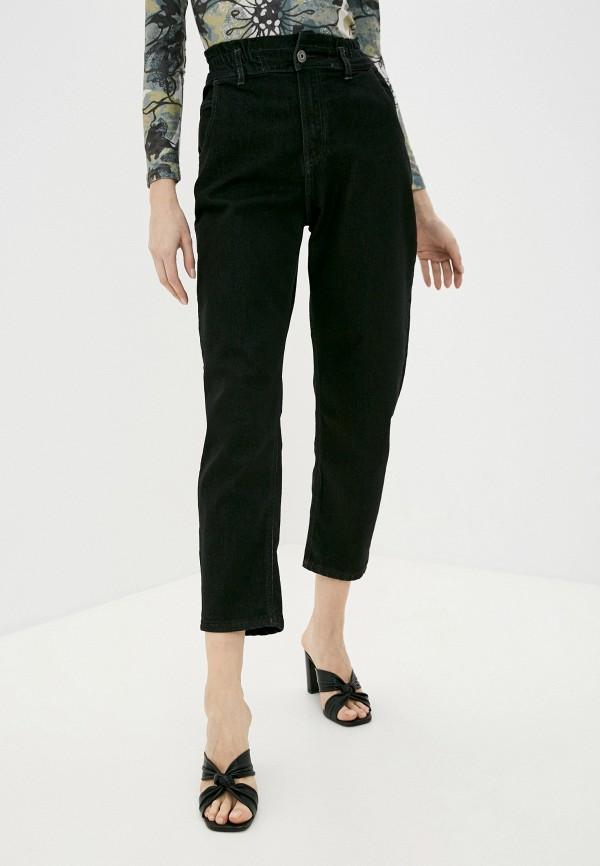 женские прямые джинсы a-a awesome apparel by ksenia avakyan, черные