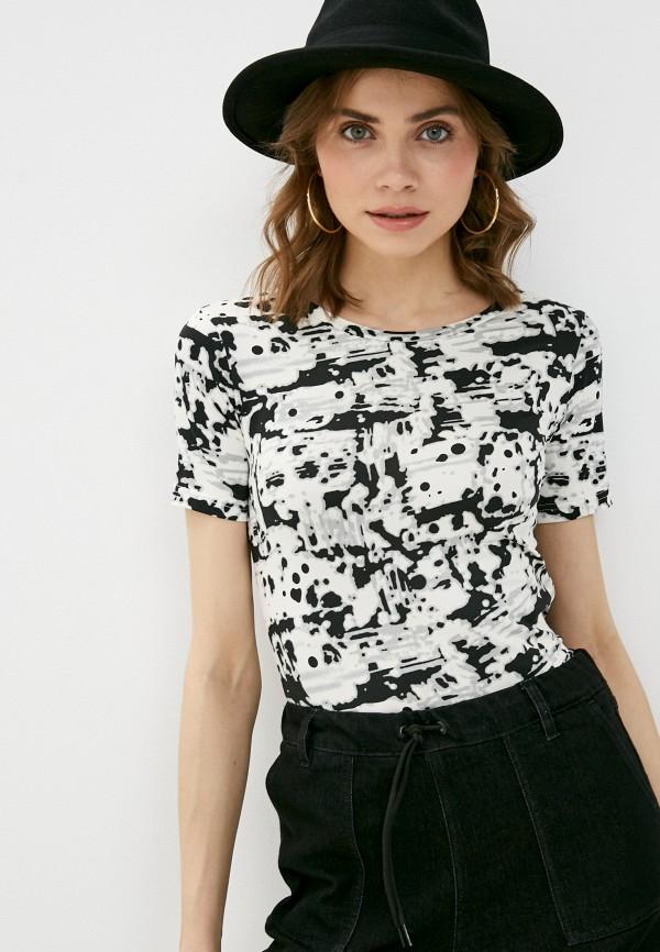 женская футболка a-a awesome apparel by ksenia avakyan, разноцветная