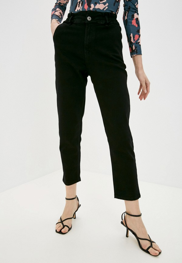 женские джинсы-мом a-a awesome apparel by ksenia avakyan, черные