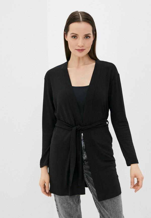 женский кардиган a-a awesome apparel by ksenia avakyan, черный