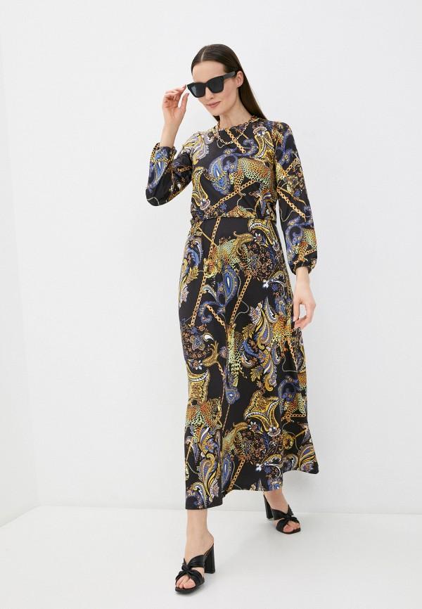 женское повседневные платье a-a awesome apparel by ksenia avakyan, черное
