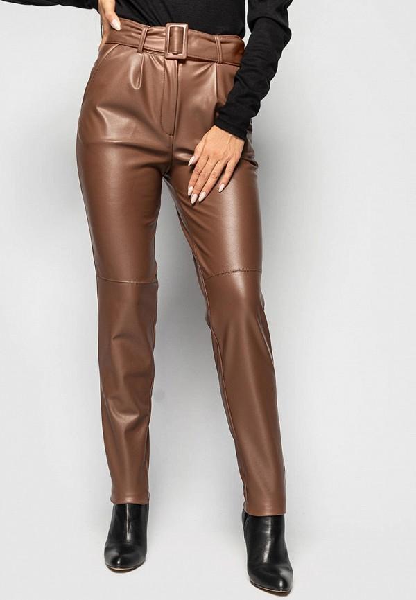 женские брюки larionoff, коричневые