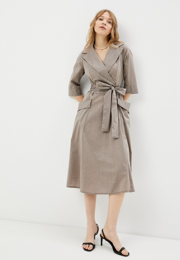 Платье Aelite Aelite  коричневый фото
