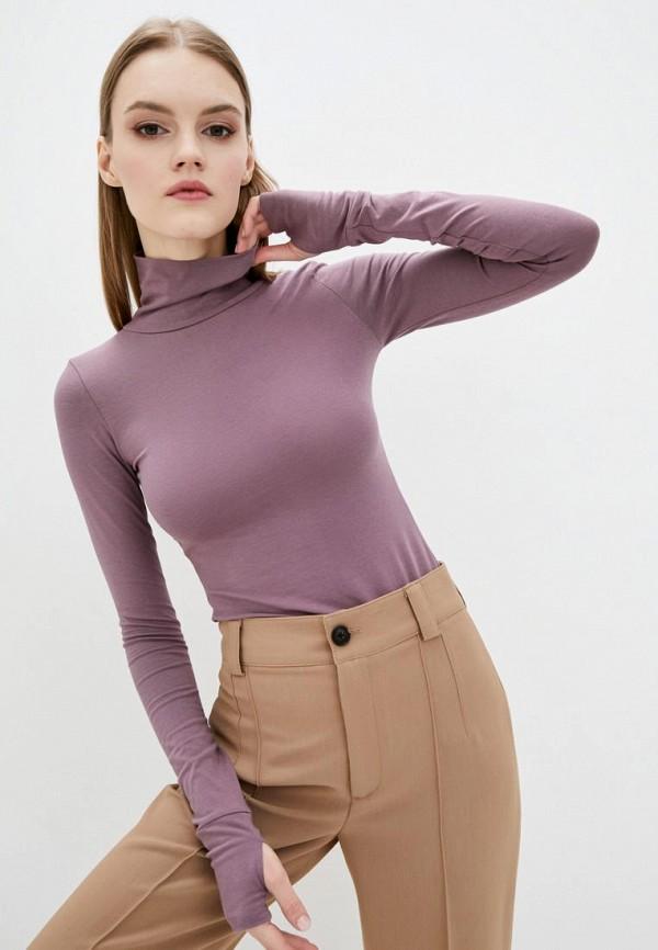 женская водолазка beliq wear, фиолетовая