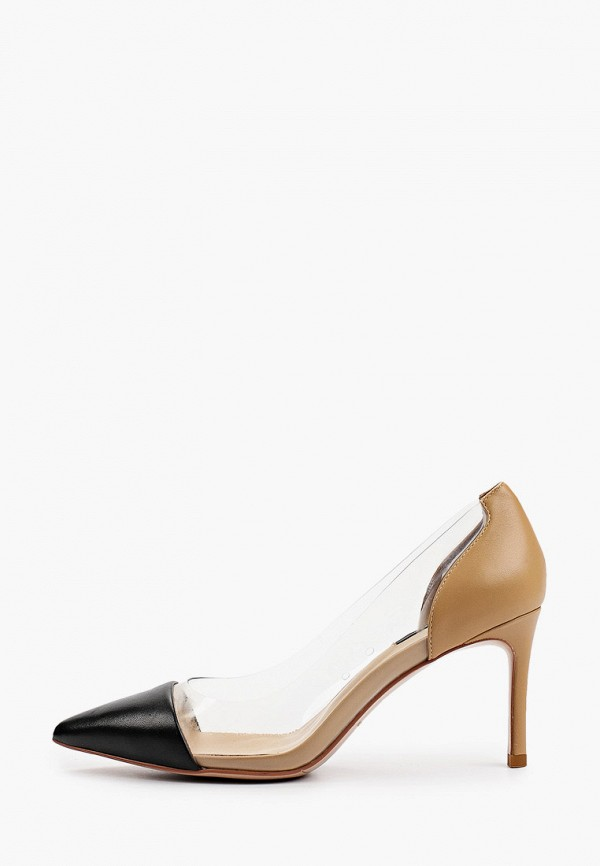 женские туфли-лодочки evigi, коричневые
