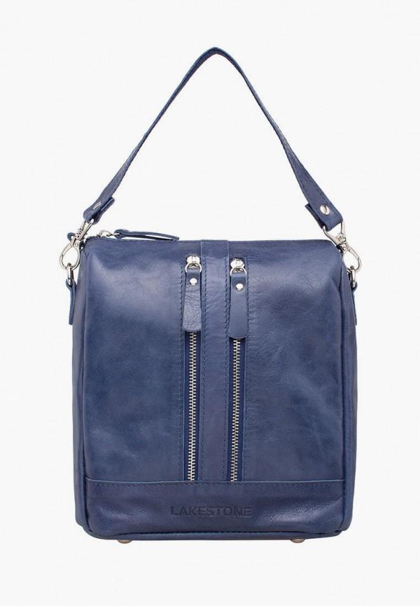 женский рюкзак lakestone, синий