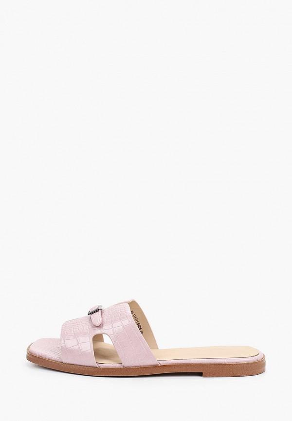 Сабо Mascotte розового цвета