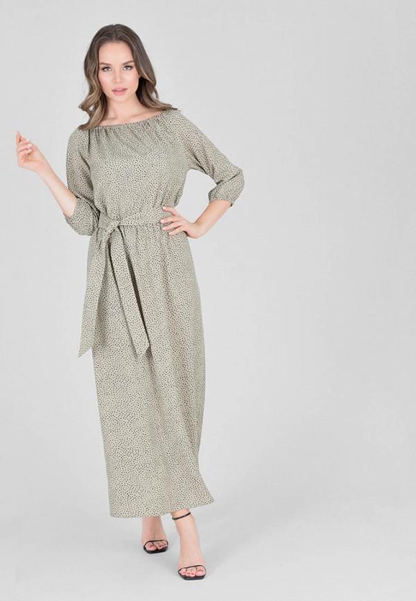 женское платье eliseeva olesya, хаки